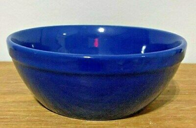 Gibson China Cereal Soup bowl - Blue stoneware  Microwave and Dishwasher safe