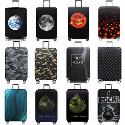 """Protective Anti Scratch Luggage Cover 18""""-32"""" Thick Elastic Suitcase Protector"""
