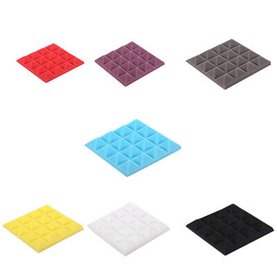 25X25X5Cm Soundproof Sponge,Acoustic Foam Panel Stop Absorption Studio Ktv G3H8