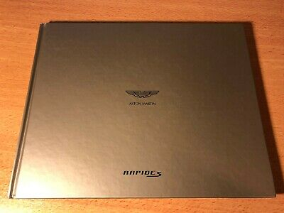 Aston Martin Rapide S Brochure Book Hardcover 75 Pages