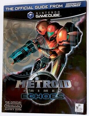 Metroid Prime 2 Echoes Nintendo Power Official Game Strategy Guide