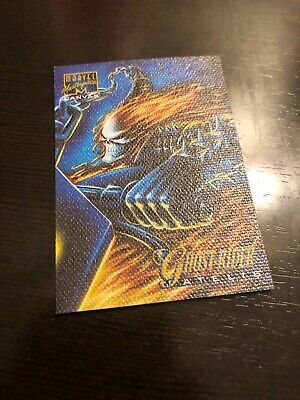 1995 Marvel Masterpieces Series 4 Canvas Chase Card #8 of 22, Ghost Rider! NM!
