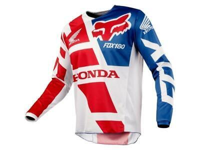 Fox Maglia moto cross 180 Jersey 2018 Honda-Red tg. M