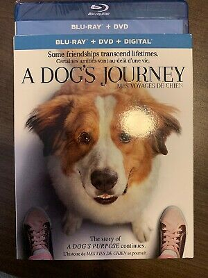 A Dogs Journey Blu-Ray & DVD w Slipcover Canada Bilingual NO DC LOOK Dog's