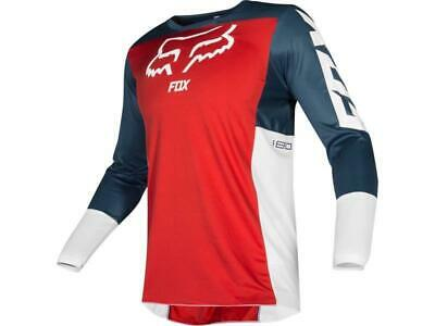 Fox Maglia moto cross 180 Jersey 2019 PRZM Navy/Red tg. L