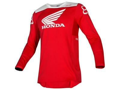 Fox Maglia moto cross 180 Jersey 2019 Honda Red tg. L