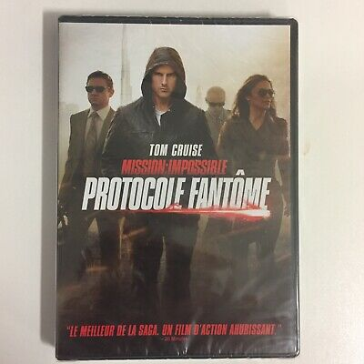 Mission Impossible Protocole Fantôme Tom Cruise dvd neuf sous blister c2
