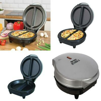 Fineway Electric Dual Omelette Maker Frying Pan Egg Cooker Breakfast Non...