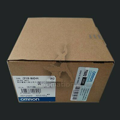 1PCS Omron CP1W-MAD44 PLC CP1WMAD44 module New In Box Free Shipping