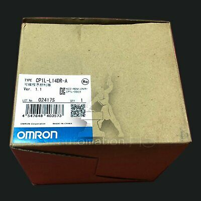 NEW Omron CP1L-L14DR-A CPU Module For SYSMAC CP1L Series 85 to 264 V dc