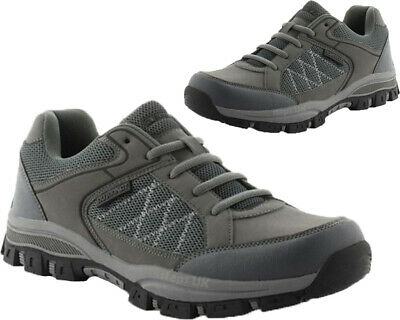 Mens Walking Hiking Lace Up Boots Comfortable Trekking Trail Trainers Shoes Sz