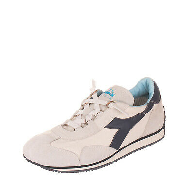 DIADORA HERITAGE EQUIPE SW JR Leather Sneakers Size 38.5 UK
