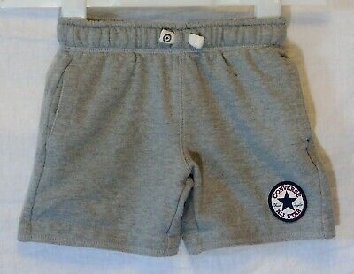 Boys Blue Marl Jersey Cotton Stretchy Sports Shorts Age 18 Months 2-6 Years A55