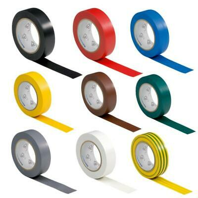 9 rolls VDE Electrical Tape Insulating PVC Set / Selection, 9 colours