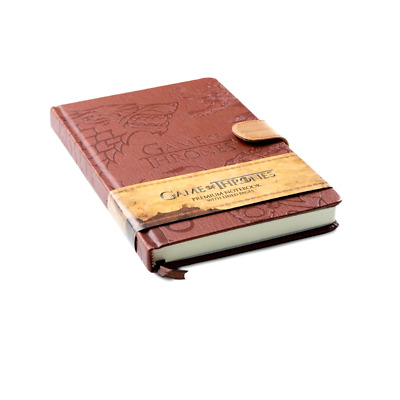 Game Of Thrones High Quality  A5 Notebook - Diary with Sigils