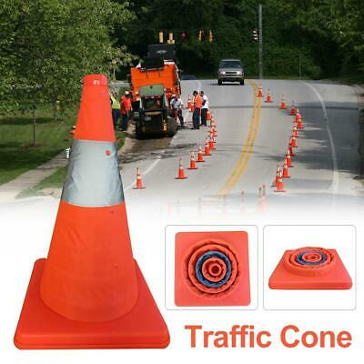 Traffic Cones Collapsible Warning Traffic Cones Reflective Safety Cone Orange