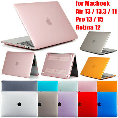 """Slim Hard Case Cover Shell For Macbook Air 13"""" 11"""" Pro 13"""" 15"""" Retina 12"""" Laptop"""