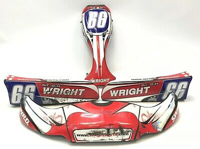 SWRD Wright Kart Complete Bodywork Pod Set & Bars