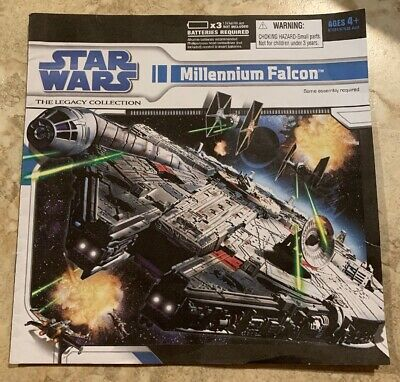 Star Wars Legacy Collection Millennium Falcon Instruction Booklet 2007 Hasbro