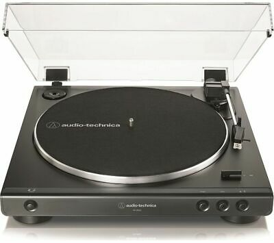 AUDIO TECHNICA AT-LP60X Belt Drive Turntable - Black - Currys