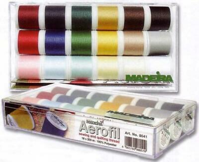 Madeira Aerofil 'Allesnäher' (Sewing All-Rounder) 8041 Sewing Thread Box...