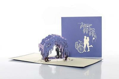 Cardology | Wisteria Pop Up Card | Engagement Card, Gifts, Unique...