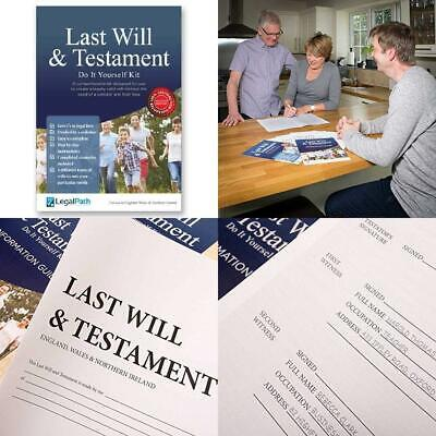 Last Will and Testament (DIY Kit) by LegalPath™ - 2019 Edition. Really...