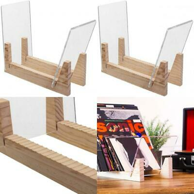 KAIU Vinyl Record Storage - Solid Wood with Crystal Standard Version, Natural