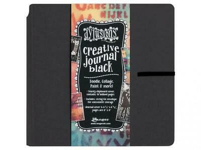 Ranger Dylusions Creative Journal Square, Black