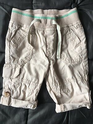 Baby Boys Mothercare Trousers Age 3-6 Months