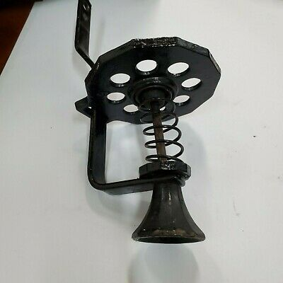 Arcade Coffee Grinder No 4 Twelve Sided Catch Cup Holder and Pull Assembly