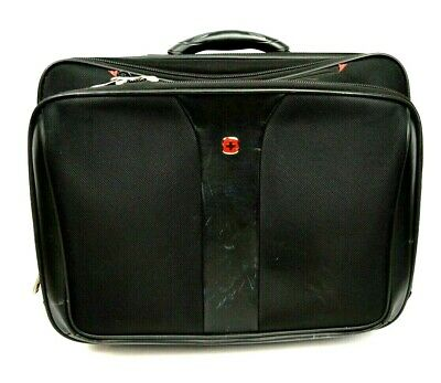 "Wenger Swiss Gear Rolling Carry On Computer Laptop Briefcase Day Bag 17"" Luggage"