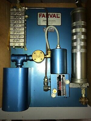 Farval Lubekit PP21 With TP23 Lubricating System