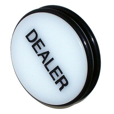 3 Inch Large Dealer Puck Professional Quality Button Texas Holdem