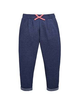 Girls Joggers In Navy Size 18-24 2-3 3-4 Years Free UK P&P