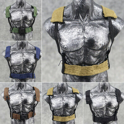 """1//6 Scale Strap Vest Belt for 12/"""" Action figure Toys Soldier Military Accessory"""