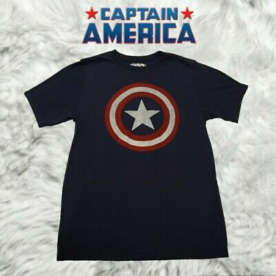 Marvel Captain America T-shirt Men Size Small Hot Topic