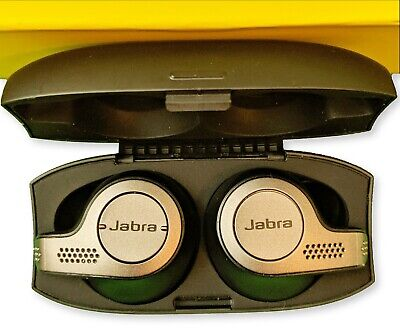 Jabra Elite 65t Alexa Enabled True Wireless Earbuds Charging Case Titanium Black