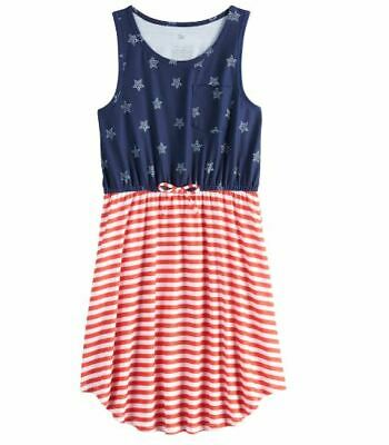 Girls 7-16 & Plus Size SO Tie Waist Tank Dress