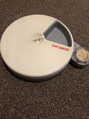 Cat Mate C50 Automatic 5 Meal Pet Feeder For Cats Or Small Dogs