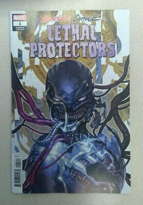 Absolute Carnage Lethal Protectors #1 1:25 Putri Codex Variant Marvel 2019