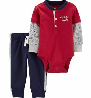 Mud Pie H7 Baby Boy Star Henley Two-Piece Pants /& Shirt Set 1012212 Choose Size