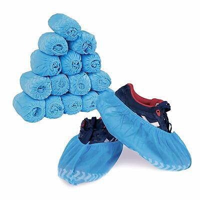 Premium Disposable Boot & Shoe Covers | 300 Pack of 100 Large,100 XL,100 XXL US