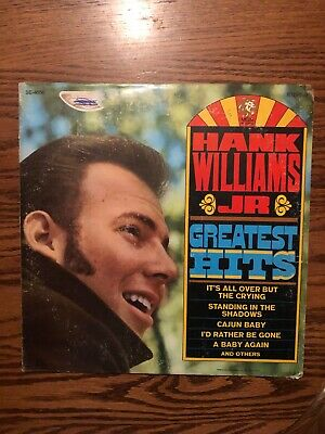 Hank Williams Jr. Greatest Hits LP Vinyl