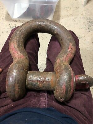 Crosby 35 Ton Screw Pin Shackle