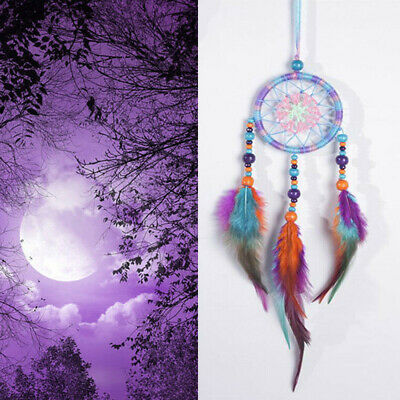 Colorful Handmade Indian Dream Catcher Net Hanging Craft Gift  Home Car Decor US