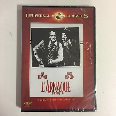 L'Arnaque (The Sting) Paul Newman Robert Redford dvd neuf sous blister c5