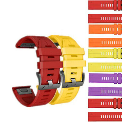 Silicone Wristband Watchband Watch Band Strap Replacement For Garmin Fenix 3 5
