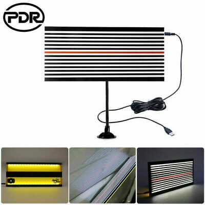 PDR LED Light TOOL Paintless Hail Removal Dent Doctor 2Side Line Reflector Board