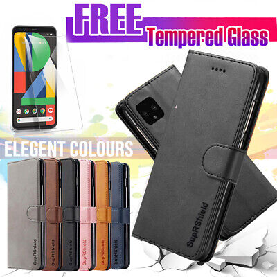 For Huawei Y5 2019 SupRShield Wallet Leather Flip Magnetic Card Slots Case Cover